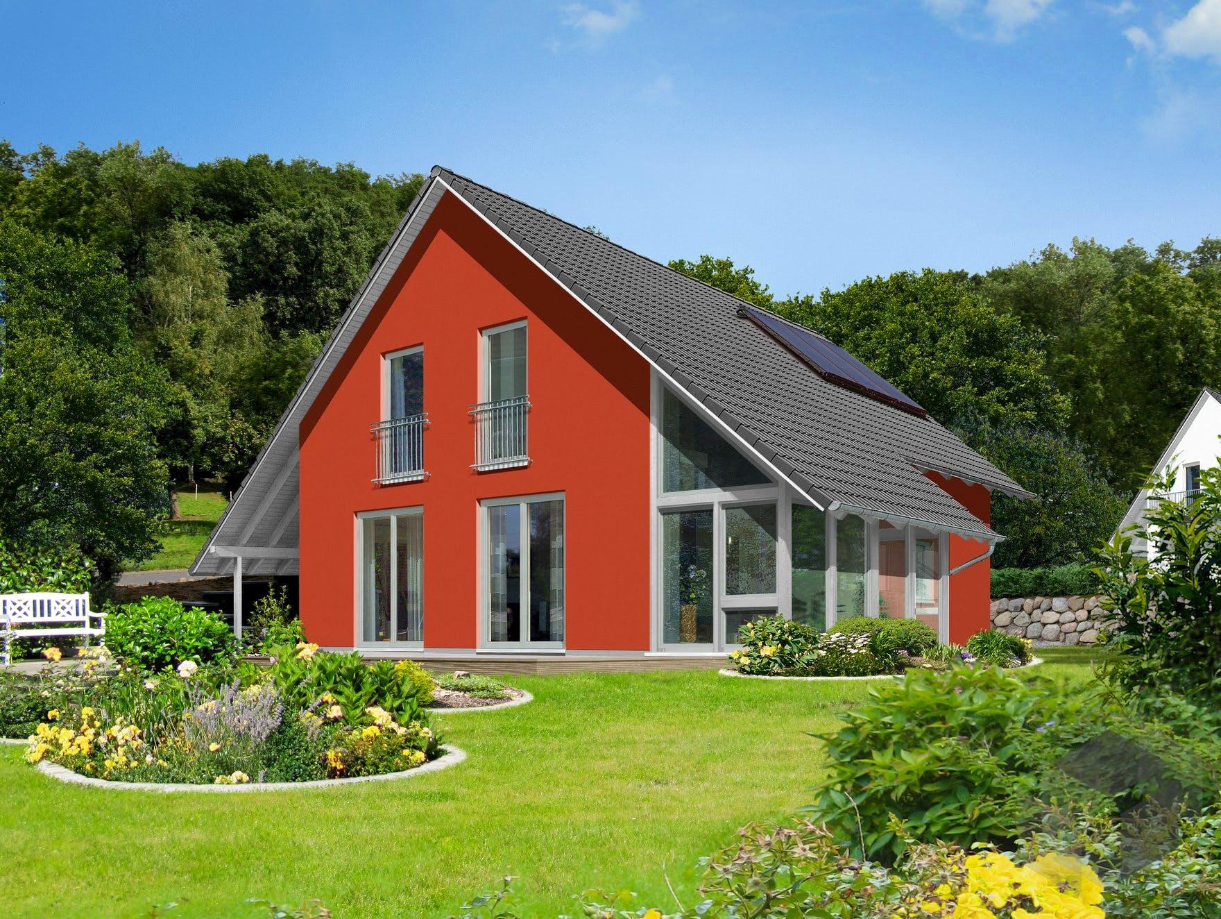 wintergartenhaus 118 von town country haus klassiker satteldach. Black Bedroom Furniture Sets. Home Design Ideas