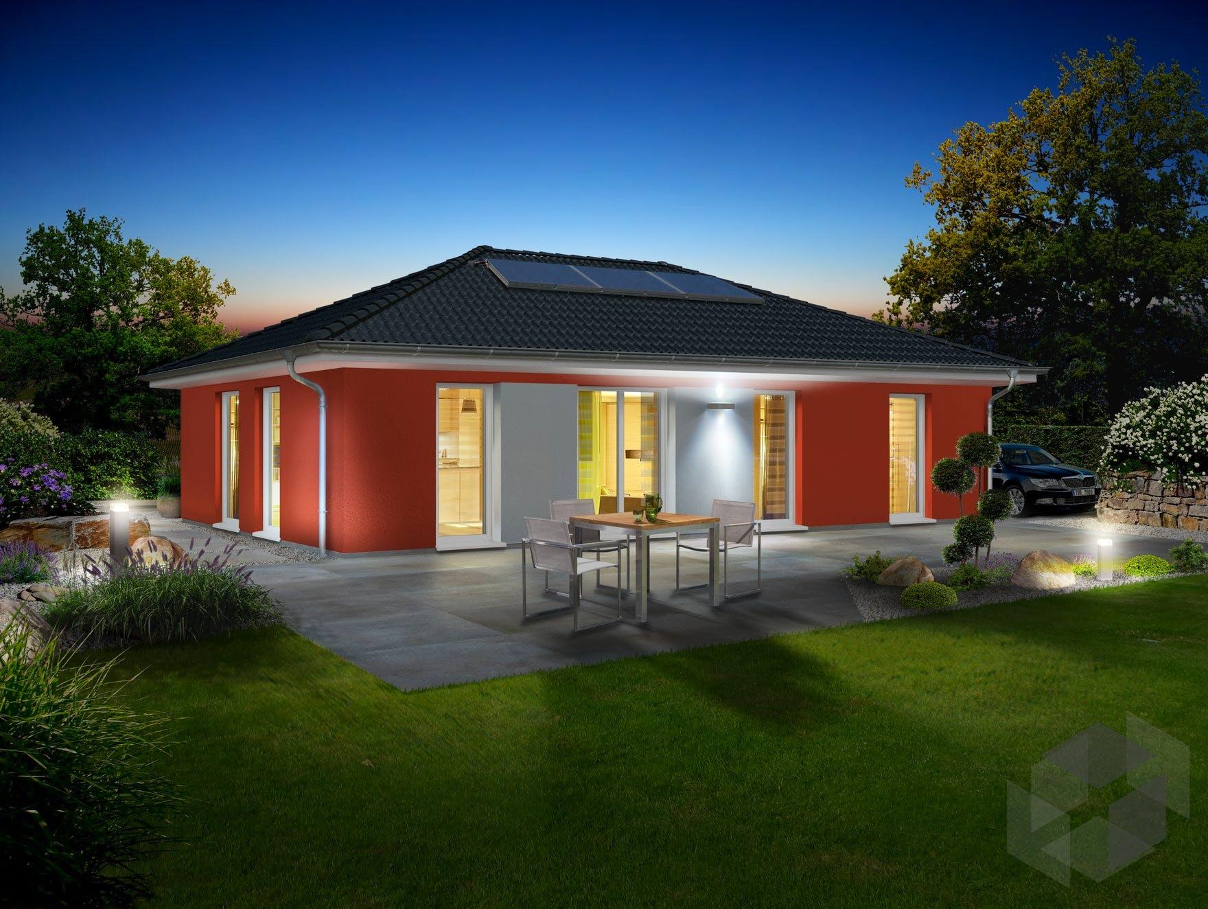 bungalow 110 von town country haus walmdach. Black Bedroom Furniture Sets. Home Design Ideas